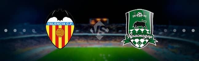 Прогноз на матч Валенсия – Краснодар – 07.03.2019, 23:00
