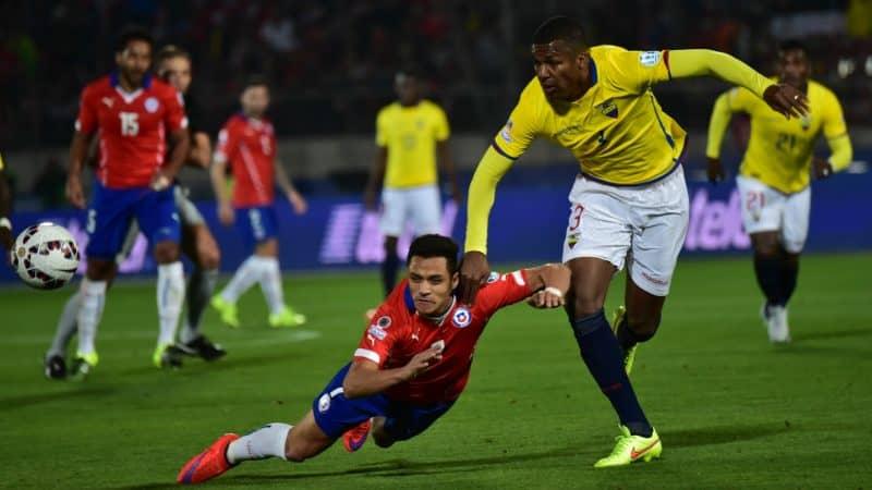 Прогноз на матч Эквадор – Чили – 22.06.2019, 02:00