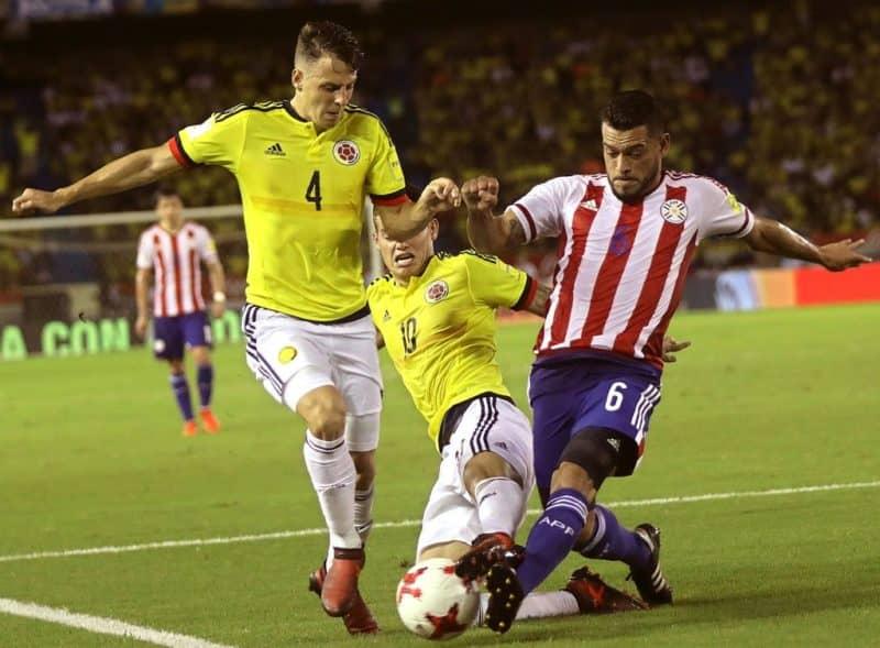 Прогноз на матч Колумбия – Парагвай – 23.06.2019, 22:00